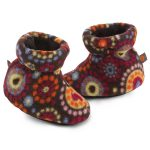 ACORN Toddler Easy Bootie Slipper – Chocolate Dots