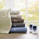 Beautyrest Heated Ribbed Microfleece Blanket – Twin