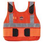 Ergodyne Chill-Its 6215 Phase Change Premium Cooling Vest – Hi-Viz Orange