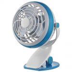 Comfort Zone 4″ USB Desk Fan