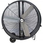 Comfort Zone 42″ Industrial Belt Drive Drum Fan