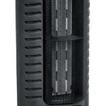 Comfort Zone CZ488 Ceramic Electric Tower Fan-Forced Heater – Black