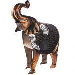 DecoBreeze Figurine Fan – African Elephant