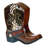 DecoBreeze Figurine Fan – Cowboy Boot