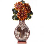 DecoBreeze Figurine Fan – Flower Bouquet
