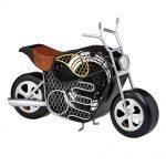 DecoBreeze Figurine Fan – Motorcycle
