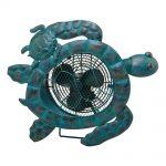 DecoBreeze Figurine Fan – Sea Turtles