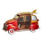DecoBreeze Figurine Fan – Woody Car Red