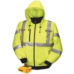 DeWalt 20V/12V MAX Class III High-Vis-3-in-1 Heated Jacket (Jacket and Adaptor Only)
