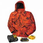 DeWalt 20V/12V MAX Lithium Ion True Timber Blaze Camo Heated Jacket Kit