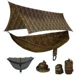 Eagles Nest Outfitters CamoLink Hammock Shelter System – Forest Camo