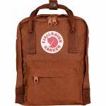 FjallRaven Kanken Mini Kids Backpack – Brick