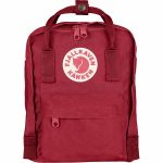 FjallRaven Kanken Mini Kids Backpack – Deep-Red