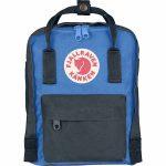 FjallRaven Kanken Mini Kids Backpack – Graphite/UN-Blue