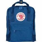 FjallRaven Kanken Mini Kids Backpack – Lake-Blue