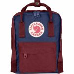 FjallRaven Kanken Mini Kids Backpack – Royal-Blue/Ox-Red