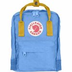 FjallRaven Kanken Mini Kids Backpack – UN-Blue/Warm-Yellow