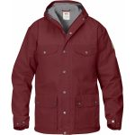 FjallRaven Men's Greenland Winter Jacket – Red Oak/Grey