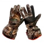 Gerbing Gyde Men's Featherweight Casual Heated Gloves, Camouflage – 7V Battery