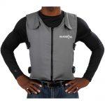 Glacier Tek Original Cool Vest Gray Banox FR3 with Protect Pack