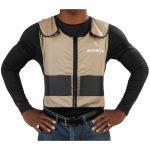 Glacier Tek Original Cool Vest with Comfort Pack Tan/Khaki