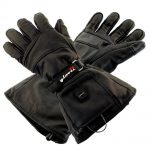 Glovii GS5 7V Battery Heated Leather Ski Gloves