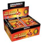 Grabber Warmers Peel N' Stick 12+ Hour Adhesive Body Warmer – 40 Pack Box