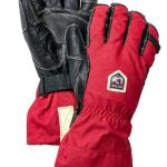 Hestra Leather Heli Ski Ergo Grip Glove
