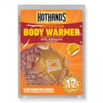 HotHands 12 Hour Supersize Body Warmers with Adhesive – 40 Pack Case