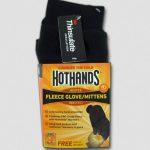 HotHands Heated Fleece Glove / Mittens – Black
