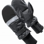 HXT Microwavable Heated Mittens – Black