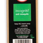 Incognito All Natural Deet-Free Anti Mosquito Incense Sticks