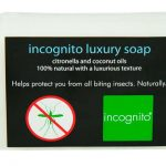 Incognito All Natural Deet-Free Anti Mosquito Luxury Soap 100g