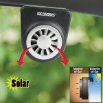 Jobar Solar Auto Fan Mini Car Ventilation System