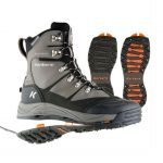 Korkers SnowJack Winter Boots with Ice Traction – Gun Metal