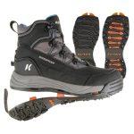 Korkers Women's Verglas Ridge with SnowTrac & IceTrac Soles Boots