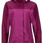 Marmot Women's PreCip Jacket – Purple Orchid/Deep Plum