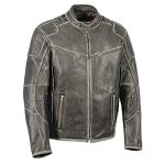 Milwaukee Leather Men's Vintage Distressed Triple Vented Jacket