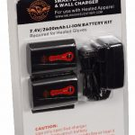 Milwaukee Leather Universal Battery Pack and Wall Charger for Heated Gloves