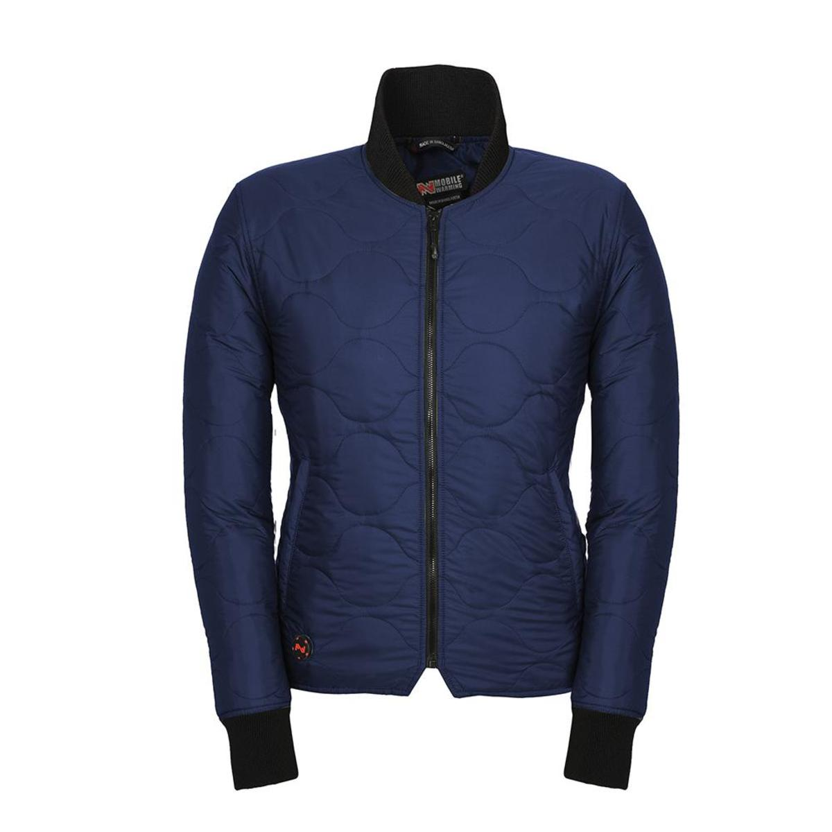 Mens Ansai Mobile Warming Battery Heated Classic Jacket Waterproof Breathable