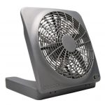 O2 Cool 10″ Battery Operated Indoor/Outdoor Fan with Adapter