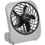 O2 Cool 5″ Battery Operated Portable Fan – Grey