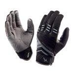 SealSkinz Dragon Eye Trail Gloves – Black/Anthracite/Grey