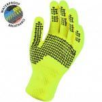 SealSkinz Ultra Grip Waterproof Gloves – Hi-Vis Yellow