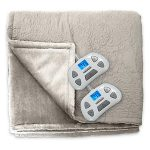 Serta Designer Medallion Quilted Heated Blanket – King