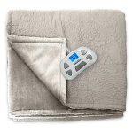 Serta Designer Medallion Quilted Heated Blanket – Twin