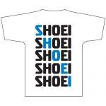 Shoei Diagonal Tee White