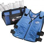 TechKewl Phase Change Cooling Vest – Blue