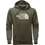The North Face Men's Half Dome Hoodie – Burnt Olive Green Heather/Vintage White