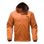 The North Face Men's Resolve 2 Jacket – Autumnal Orange/Brunette Brown